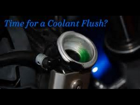 Subaru Legacy coolant flush How to