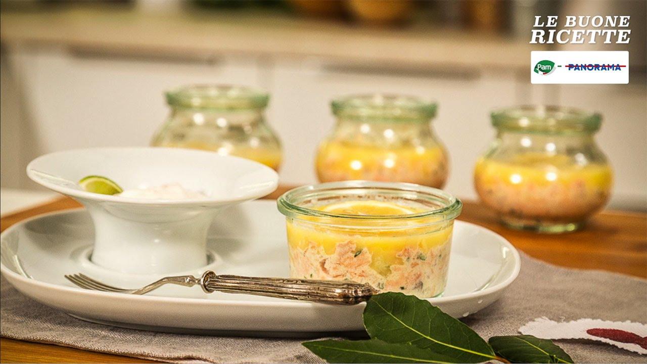 Terrina di trota salmonata con salsa al limone verde o lime - LE ...