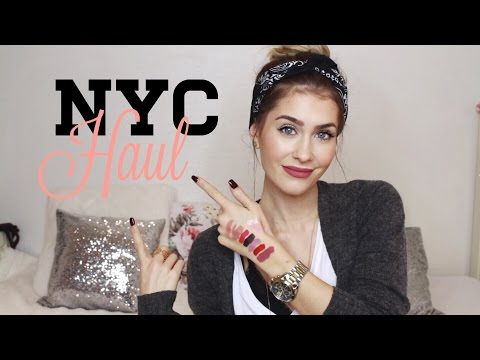 NYC HAUL - Sephora, Nike, Topshop, Urban Outfitters | BELLA
