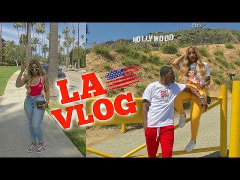 BOYFRIEND SURPRISES ME WITH A BIRTHDAY TRIP TO LA | VLOG 4