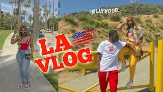 BOYFRIEND SURPRISES ME WITH A BIRTHDAY TRIP TO LA | VLOG 4