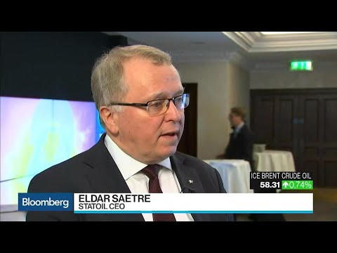 Statoil CEO Saetre on Oil Demand, Pricing, Exploration