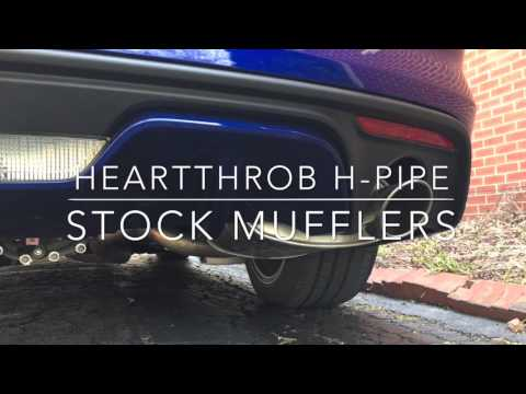 2016 Mustang GT - Heartthrob H-Pipe With Stock Mufflers