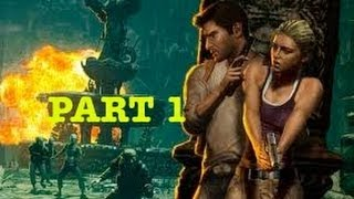 Uncharted Drake's Fortune Walkthrough Part 1 No Commentary HD PS3