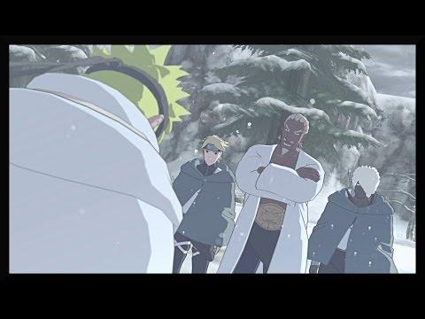 Naruto faces Fourth Raikage and Obito - Naruto Shippuden Ultimate Ninja Storm 3 Game English DUB |