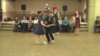 Lindy Hop in Toronto Performance by Bees' Knees Dance