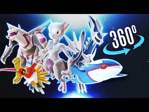 Pokémon en 360 grados