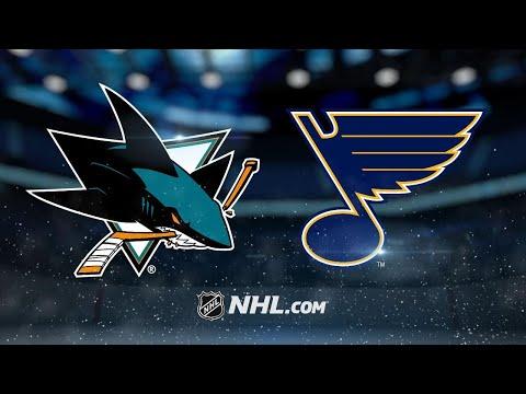 Tarasenko nets second goal in OT as Blues top Sharks