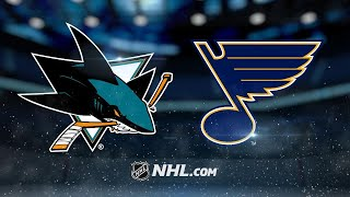 Tarasenko nets second goal in OT as Blues top Sharks