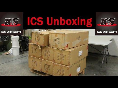 Massive ICS Airsoft Unboxing