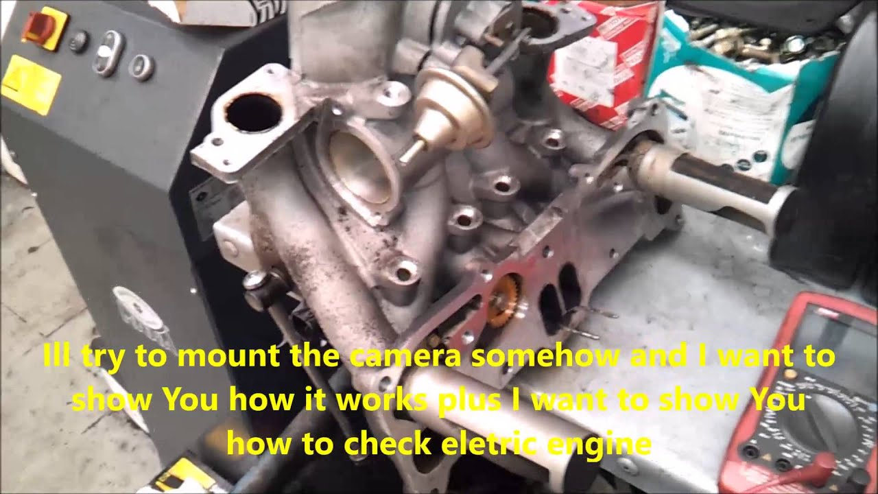 How Mazda RX8 Intake valves working