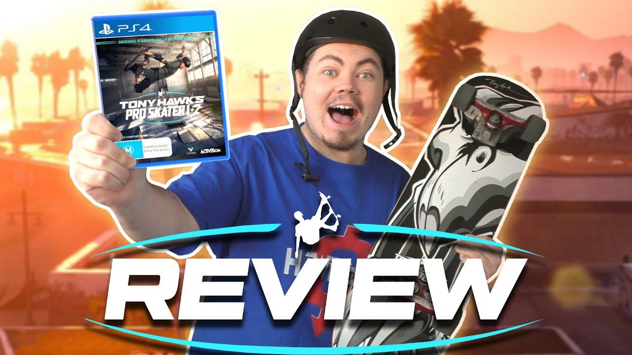 Tony Hawk's Pro Skater 1+2 Review - Square Eyed Jak