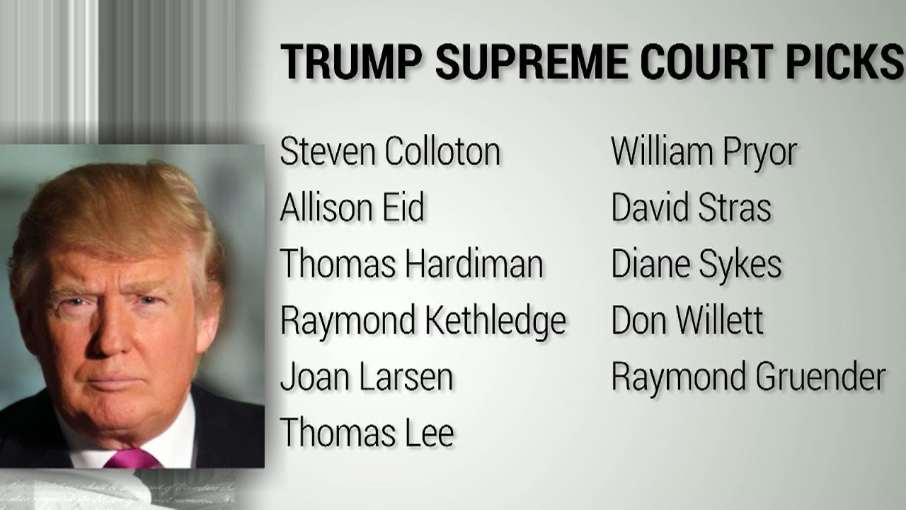Image result for Trump Supreme Court