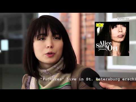 Die Pianistin Alice Sara Ott im Interview with selfmade english subtitle for 弦子