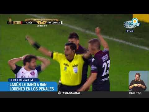 Lanús le ganó a San Lorenzo y enfrentará a River