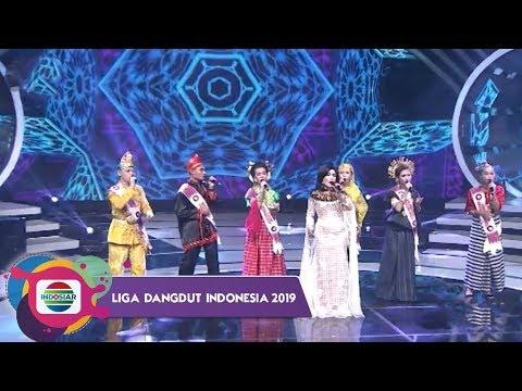 """LANTANG!! Rita Sugiarto Bersama Duta Dangdut dari Sulawesi Bawakan """"GOYAH""""   LIDA 2019"""