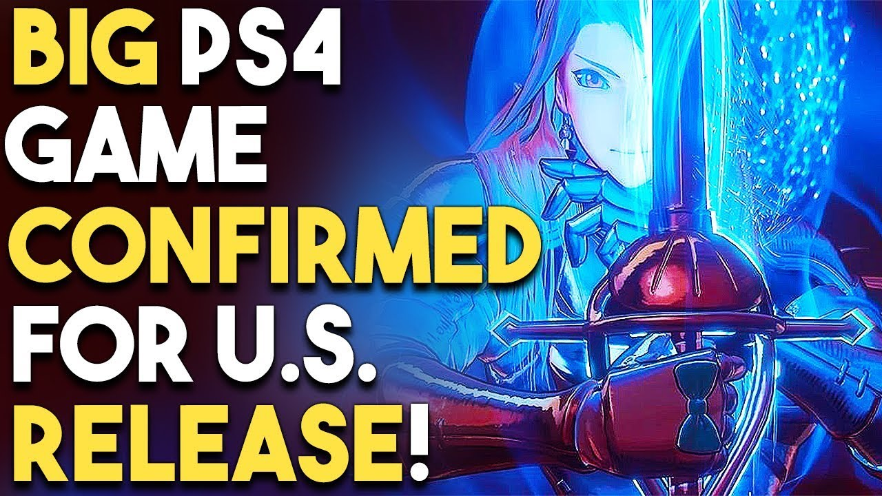 Big Ps4 Game Confirmed For U S Release New Action Rpg