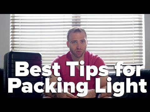 Best Tips for Packing Light