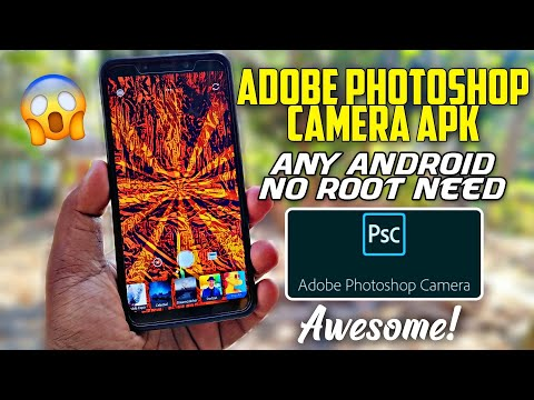 Adobe Photoshop Camera Apk For Any Android | No Root | Hindi Tech Video