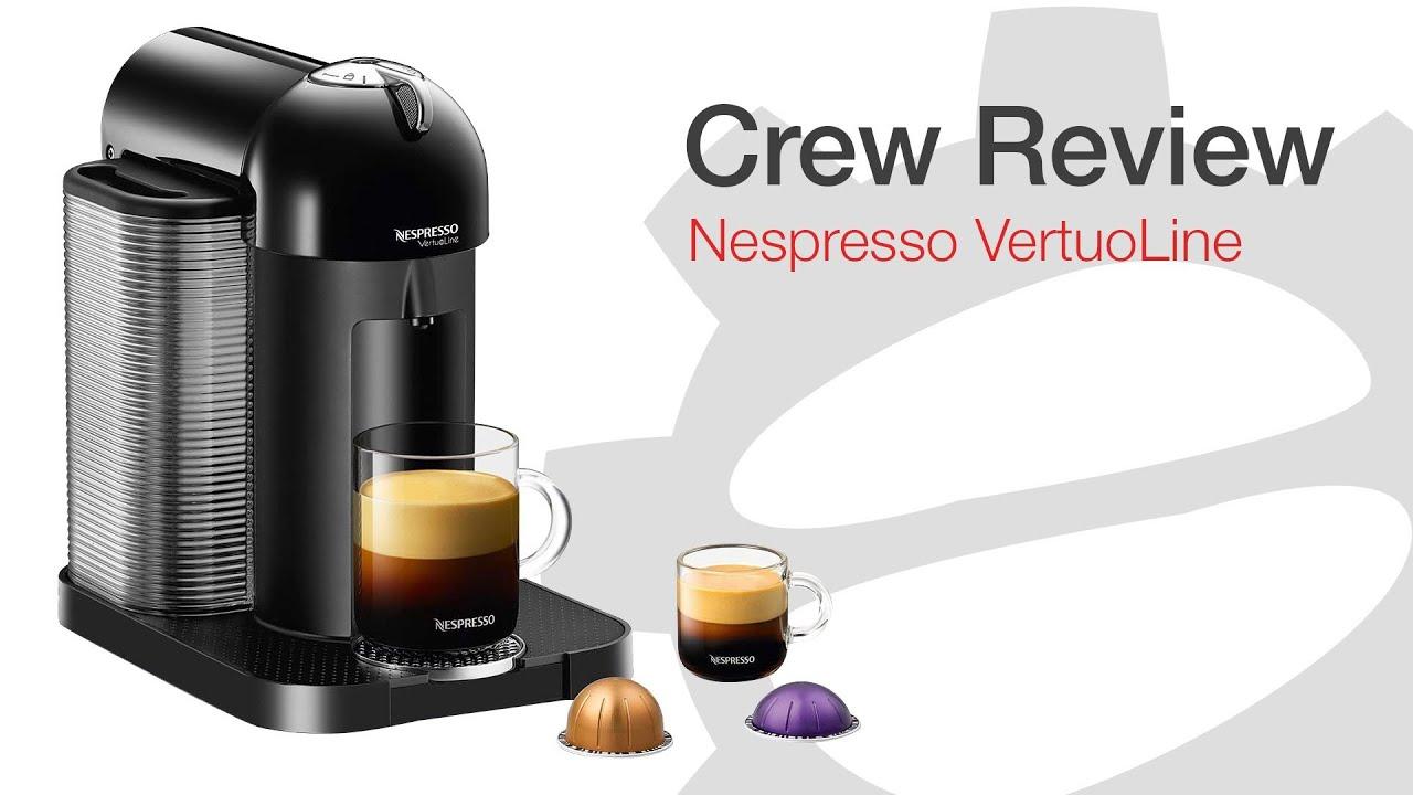 crew review nespresso vertuoline - Vertuoline