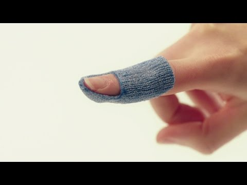 Mallet finger orthosis (pinch method) – Orficast Instructional Movie 22