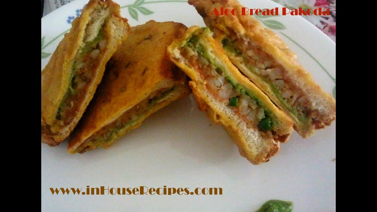 Making aloo bread pakora hindi youtube forumfinder Image collections