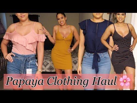Papaya Clothing Haul ❤️