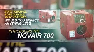 Hepa Air Scrubber by Novatek Corporation