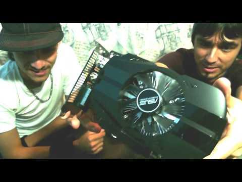 GTX 1050 ti unboxing| Asus| Benchmark| EscuadronGplay