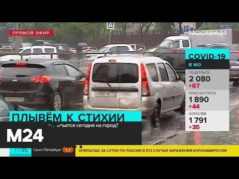 Москвичей призвали отказаться от поездок на личном транспорте во время непогоды - Москва 24