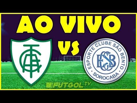 AMÉRICA-MG X SÃO BENTO AO VIVO   SÉRIE B   38ª RODADA   30/11/2019