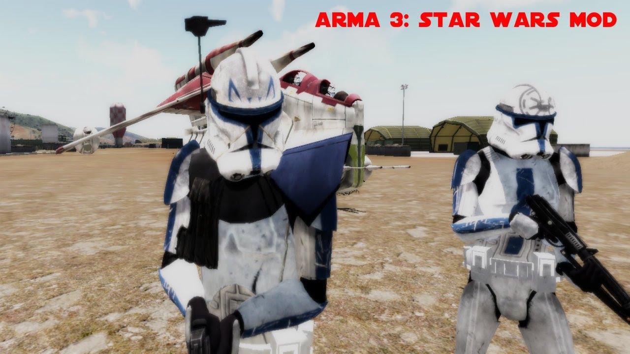 арма 3 мод на звездные войны