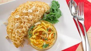Crispy Fluffy Fish w/ Green Mango Salad ยำปลา(ไม่ดุก)ฟู - Hot Thai Kitchen!