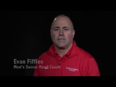 Forever Flyers - Lewis Head Men's Soccer Coach Evan Fiffles