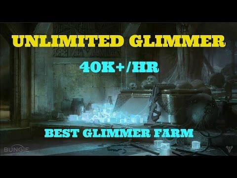 Destiny new best unlimited glimmer farm 40k hr fast easy glimmer