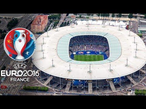 UEFA Euro 2016 France Stadiums