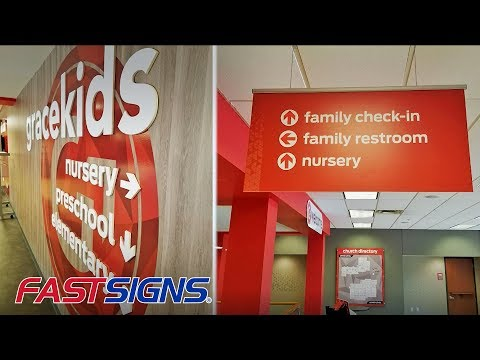 Integrate Wayfinding Into Your Decor With Signs And Visual Graphics | FASTSIGNS®
