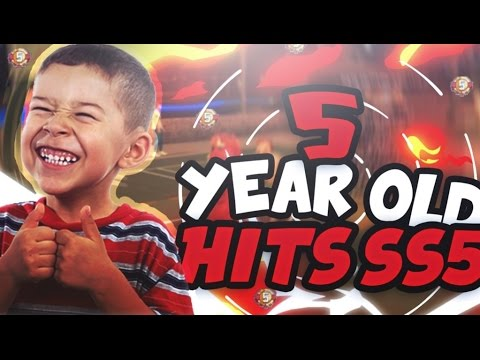5 Year Old Hits SS5 Lol! Youngest SS5 Ever !? 5Yr Old W A JetPack