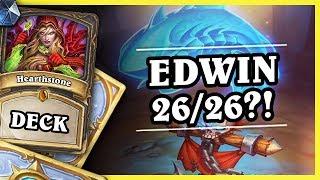 EDWIN 26/26?! - BATTLECRY ROGUE BY THIJS - Hearthstone Deck (Rise of Shadows)