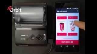 Orbit: hardware integration – pos till receipt