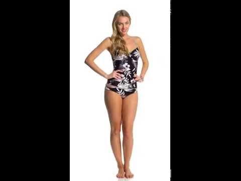 Seafolly Tropic Coast Tankini Top (DD Cup)   SwimOutlet.com