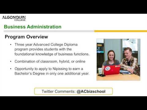 Business-Administration Advanced Diploma - Webinar