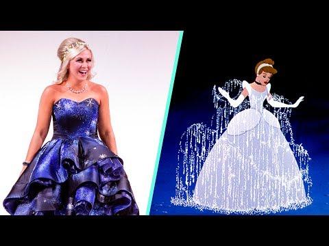 Cinderella Inspired Dress for Ashley Eckstein  Disney Style