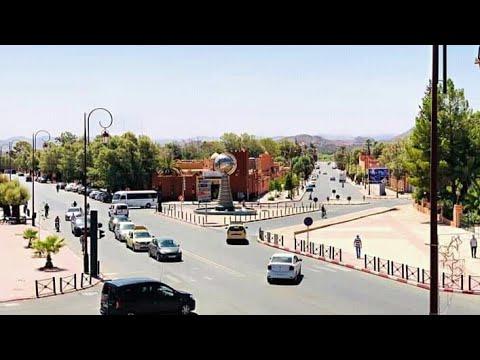 جولة في مدينة ورزازات السياحية 🎬📺📽🎞 Tour De Ouarzazat, Maroc