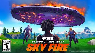 The *LIVE* EVENT is HERE! (Fortnite Sky Fire)
