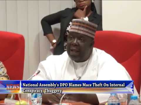 NASS DPO Blames Mace Theft On Internal Conspiracy, Thuggery