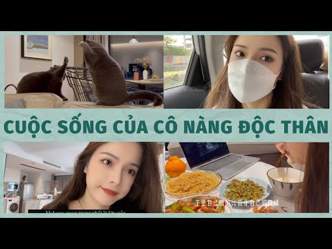 (eng) Life of a single girl ~  my trip to Changsha, how I take care of my hair | Wu Meng Fei | #20