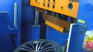 Тест на удар (обод) - колесные литые диски на Volkswagen (Фольксваген). WSP Italy W462 Altair