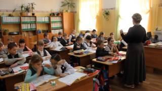 МОУ   СОШ №8 г  КЛИН КАРПУНИНА И В  фрагмент урока