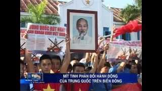 Trường Đại học Nha Trang mít tinh phản đối Trung Quốc (KTV-Bản tin trưa)